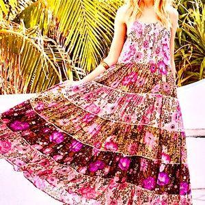 NWOT Spell & The Gypsy Desert Daisy Maxi Dress